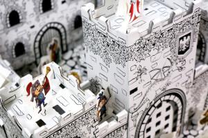 Mini DIY Cardboard Castle - Mini Castle